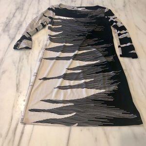 Diane von Furstenberg Fun Silk Dress - Size 4